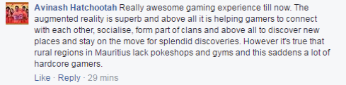 Pokemon GO  Mauritius